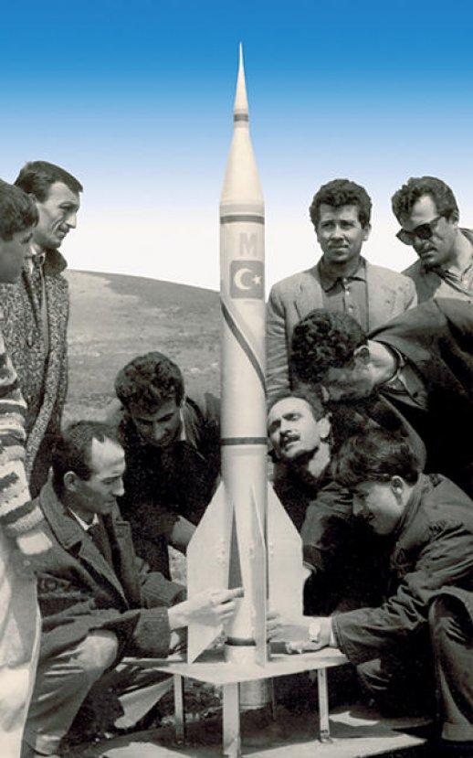 Bir zamanlar biz de uzaya roket fırlatıyorduk