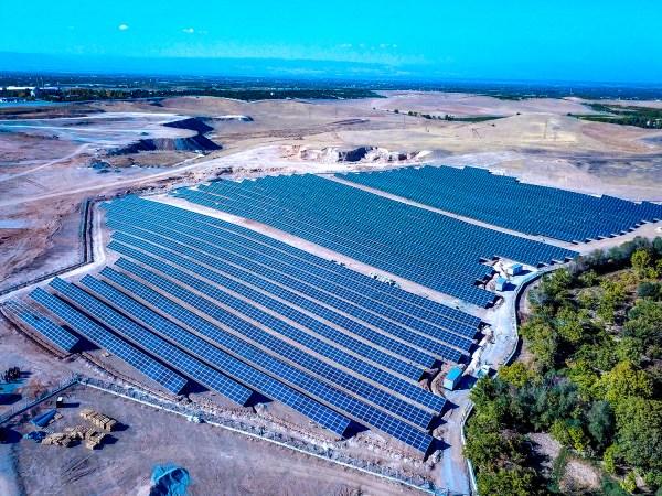 Malatya Büyükşehir Belediyesi'nin alternatif enerji tesisi açıldı