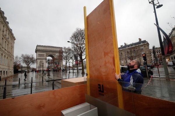 Fransa'da yağmaya karşı önlem