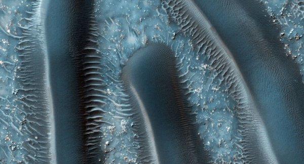 Mars Express'in gönderdiği son görüntüler: Buz Gölü