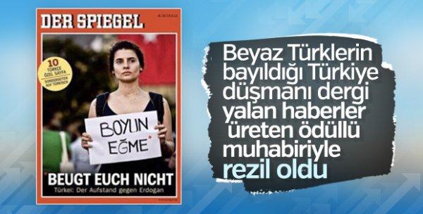 Yardım diye para toplayan sahtekar Der Spigel muhabiri