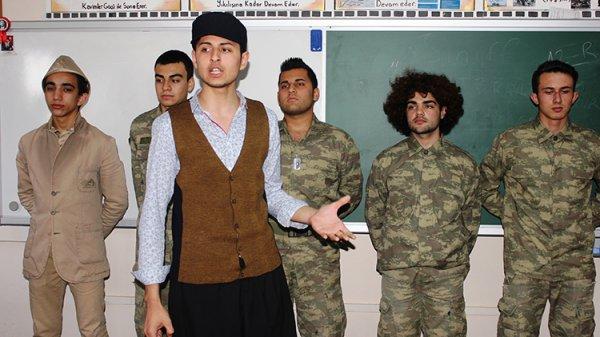 Osmaniye'de öğrenciler tarihi yaşayarak öğreniyor