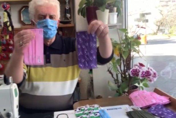 Almanya'da maske eksikliğini Türk terziler gideriyor