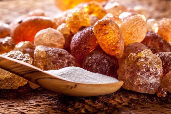 What is gum arabic #1