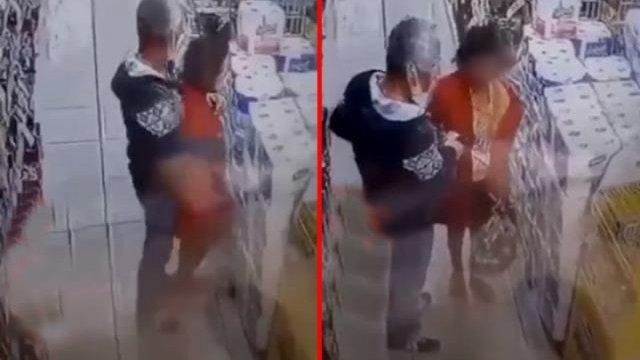 esenler 277 - İstanbul'da zihinsel engelli çocuğu markette taciz etti