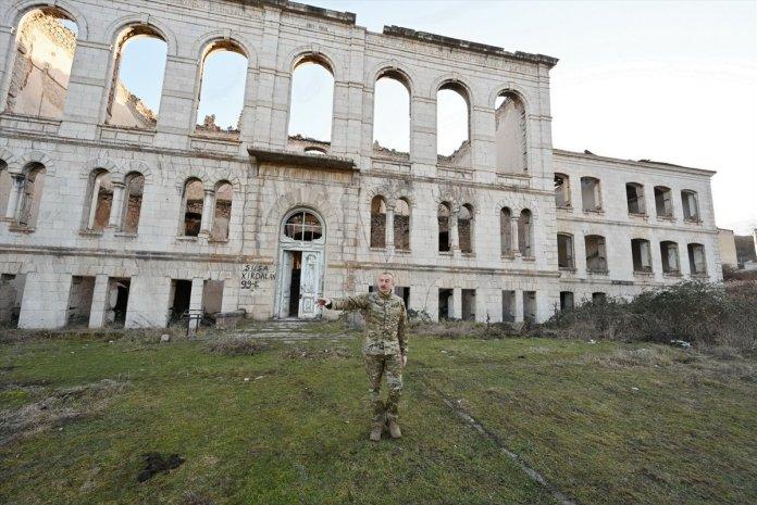 Azerbaycan Cumhurbaşkanı İlham Aliyev, Şuşa yı ziyaret etti #12