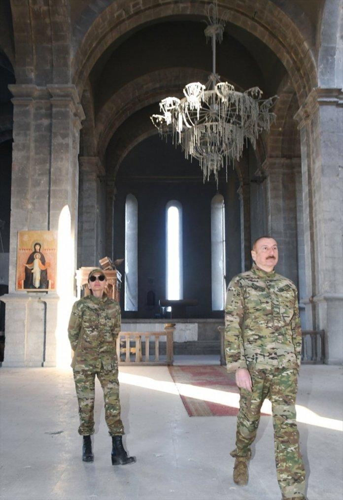 Azerbaycan Cumhurbaşkanı İlham Aliyev, Şuşa yı ziyaret etti #15