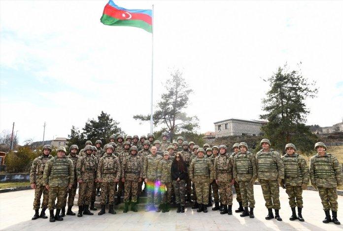 Azerbaycan Cumhurbaşkanı İlham Aliyev, Şuşa yı ziyaret etti #6