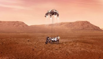 NASA kaşifi Mars a indi #1
