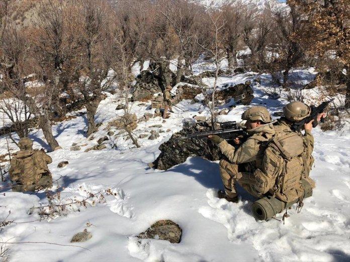 Bitlis ve Siirt te Eren-11 Sehi Ormanları Operasyonu başlatıldı #3