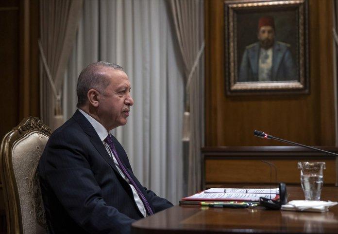Cumhurbaşkanı Erdoğan, Macron la görüştü #4