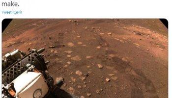 Perseverance, Mars ta ilk test sürüşünü gerçekleştirdi #1