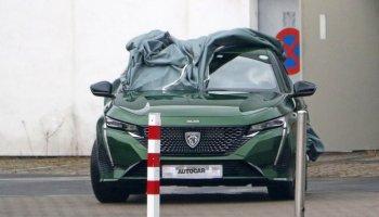 2021 Peugeot 308, yeni logosuyla görüntülendi #1