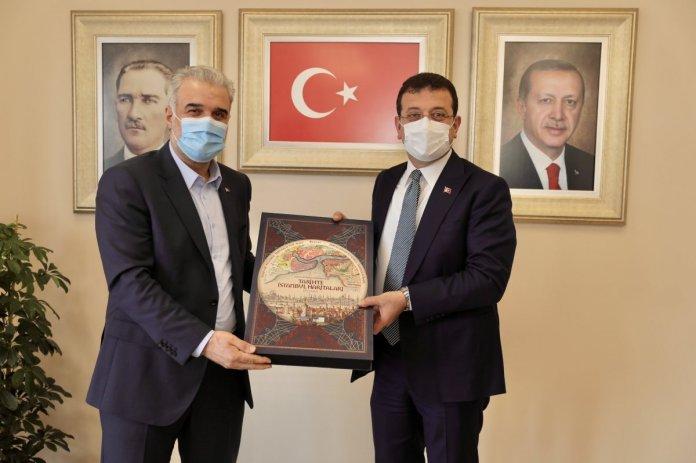 Ekrem İmamoğlu ndan Osman Nuri Kabaktepe ye ziyaret #1