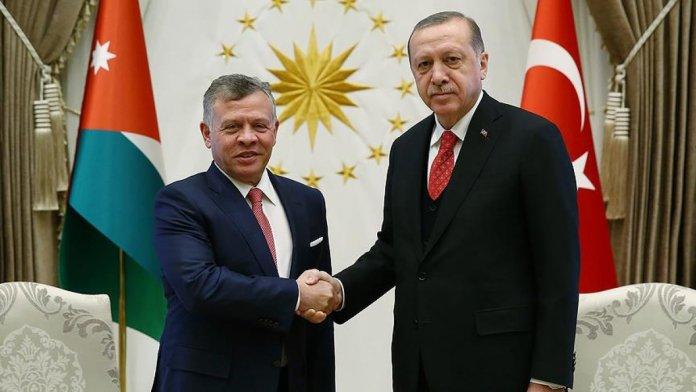 Cumhurbaşkanı Erdoğan, Ürdün Kralı 2. Abdullah ile görüştü #1