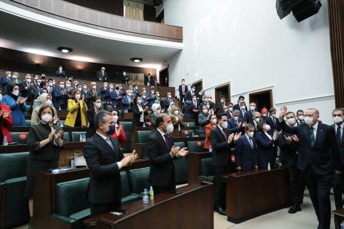 Cumhurbaşkanı Erdoğan ın AK Parti grup toplantısındaki açıklamaları #1