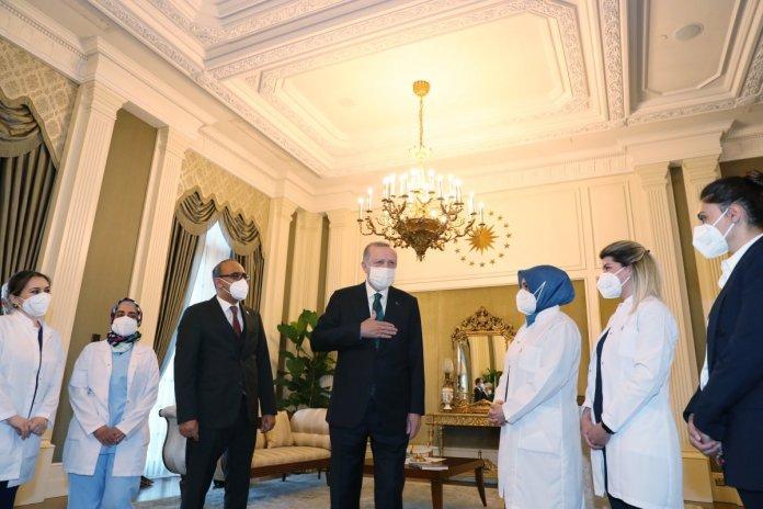 Cumhurbaşkanı Erdoğan dan sağlıkçılara  Dünya Sağlık Günü  kutlaması #1