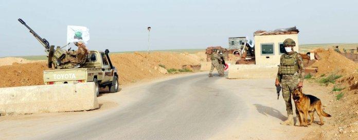 Suriye de Mehmetçik in eli tetikte #7