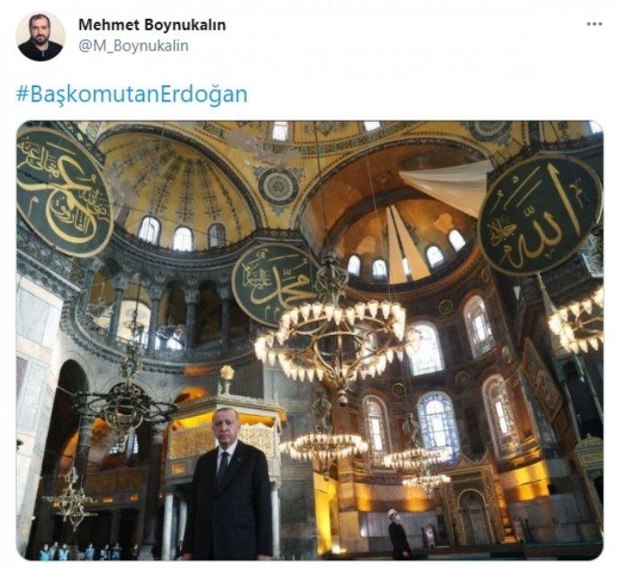 Ayasofya İmamı Mehmet Boynukalın, Marmara Üniversitesi ne geri döndü #1