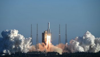 Çin, 3 milyar dolara uydu fırlatma merkezi inşa ediyor #1