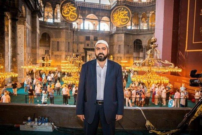 Ayasofya İmamı Mehmet Boynukalın dan açıklama #2
