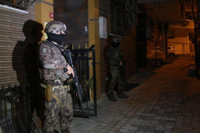İstanbul merkezli 5 ilde  organize suç örgütü  operasyonu #5
