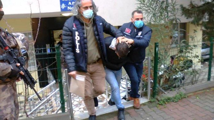 İstanbul merkezli 5 ilde  organize suç örgütü  operasyonu #1