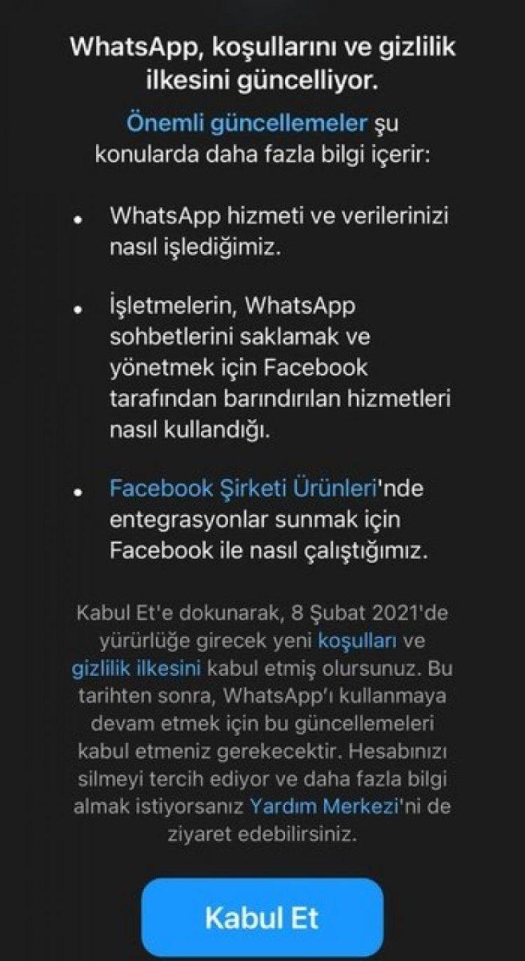 WhatsApp Gizlilik Sözleşmesi onaylama: WhatsApp sözleşmesi nasıl kabul edilir? #2
