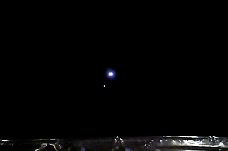 Çin in Chang e 5 uzay aracı Dünya ve Ay ı fotoğrafladı #1