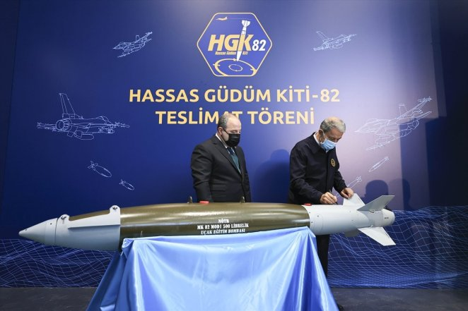 Delivery ceremony for Precision Guidance Kit-82 #8