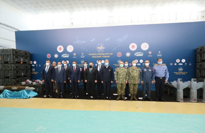 Delivery ceremony for Precision Guidance Kit-82 #4