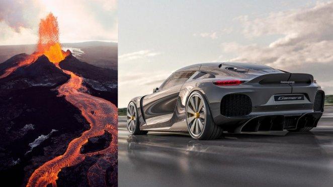 Swedish brand Koenigsegg develops volcanic fuel-powered car #1