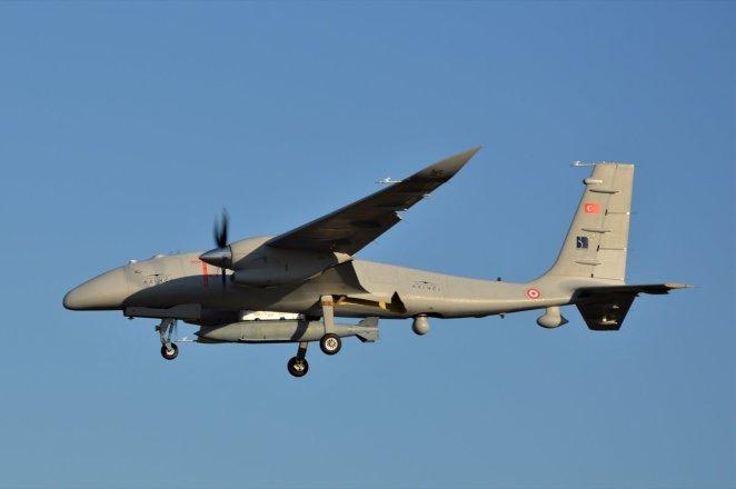Bayraktar AKINCI TİHA flew with 1360 kilos useful load #1