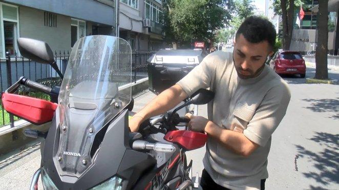Şişli'de sağlık çalışanı, çalınan motosikletini iz sürerek buldu #6