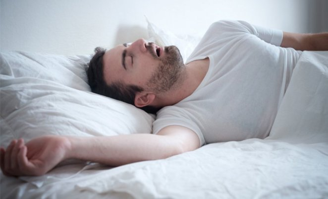 Snoring can be a sign of more serious problems #1