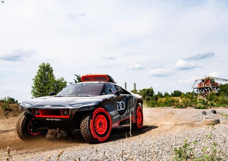 Audi den elektrikli Dakar yarışçısı: RS Q e-tron #1