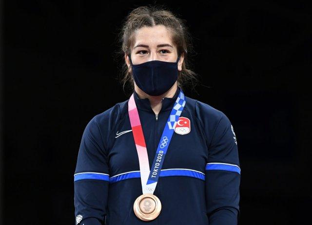 Tokyo 2020 den madalyayla dönen sporcularımız #8