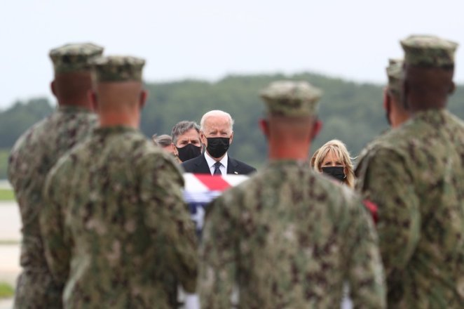 Joe Biden welcomes the funerals of US soldiers who died in Afghanistan #3