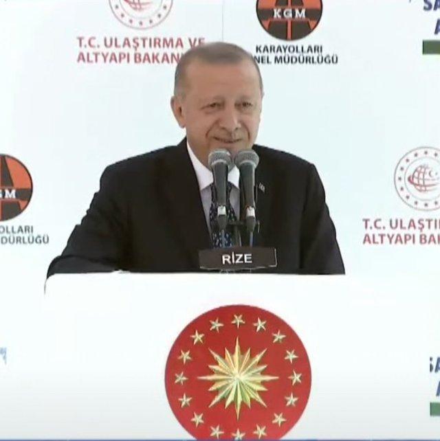 Cumhurbaşkanı Erdoğan dan çay teklifine yanıt: İşumuz var #1