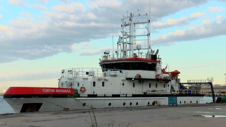 Araştırma gemisi Marmara yı karış karış inceliyor #7