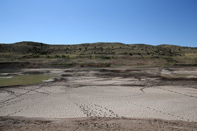 Türkiye nin en uzun nehri Kızılırmak, kuraklık tehdidi altında #2