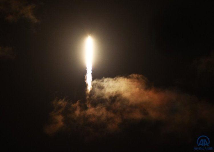 SpacX roketi, başarılı bir şekilde fırlatıldı #7