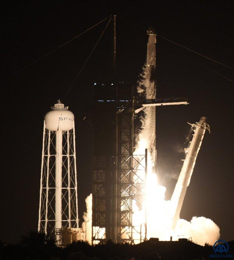 SpacX roketi, başarılı bir şekilde fırlatıldı #4