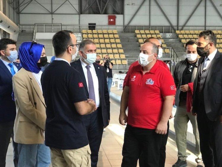 Mustafa Varank, İnsansız Su Altı Sistemleri Yarışması nı ziyaret etti  #1