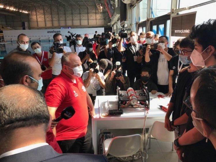 Mustafa Varank, İnsansız Su Altı Sistemleri Yarışması nı ziyaret etti  #4