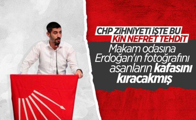 Erdoğan ın fotoğrafını asanları tehdit eden CHP li başkan gözaltına alındı #2