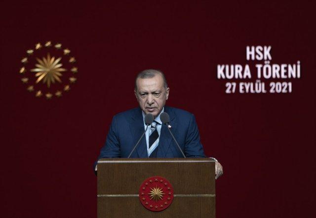 Cumhurbaşkanı Erdoğan, hakim ve savcı kura töreninde konuştu  #4