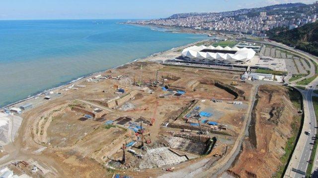 Trabzon Şehir Hastanesi için 400 fore kazık çakılacak #3