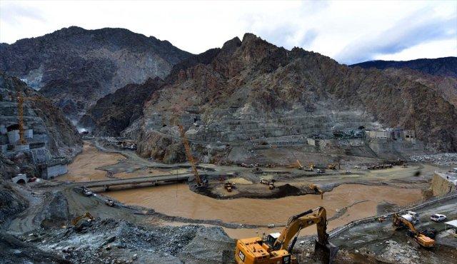 Yusufeli Barajı nda sona doğru #12