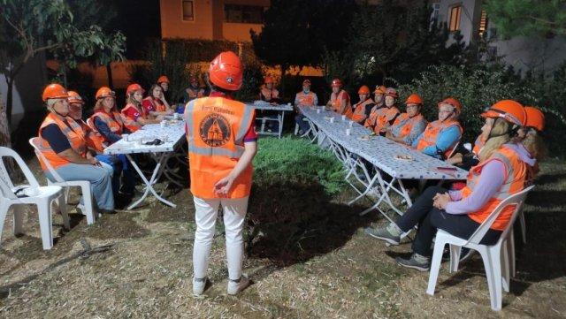 Bursa da her mahallede afet gönüllüleri yetiştiriliyor #6
